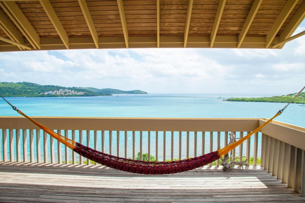 Imagine yourself here!! Hammocks with a VIEW!!!