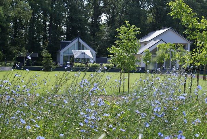 Luxe vakantiehuis nabij Landgoed Doddendael Ewijk