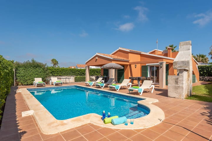 Violeta 3 bedroom villa, Cala'n Bosch