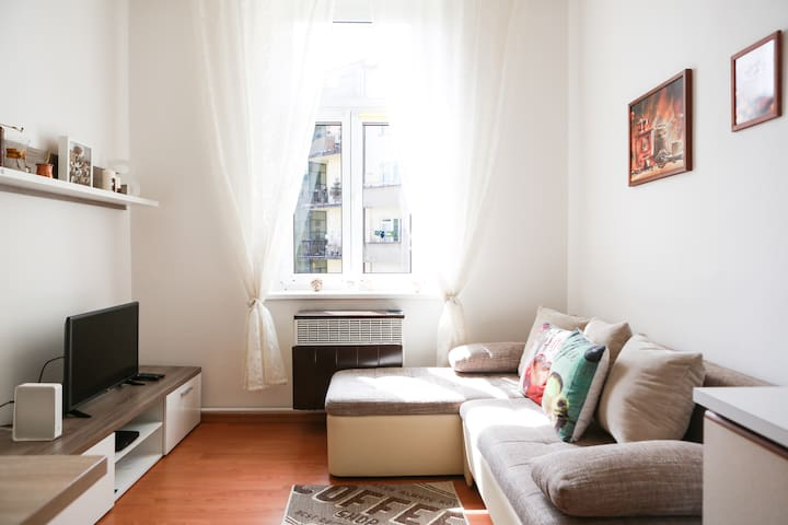 Charming apt. next to Prague Castle&metro
