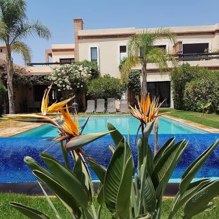 Exceptionnelle Villa duplex 3 ch. à l'orangeraie