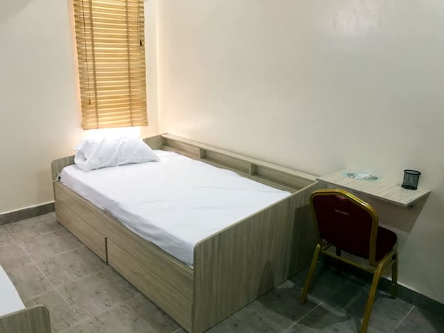 Single Bed space in 2-Person Budget Hostel