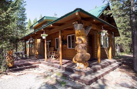 Quiet retreat near West Yellowstone