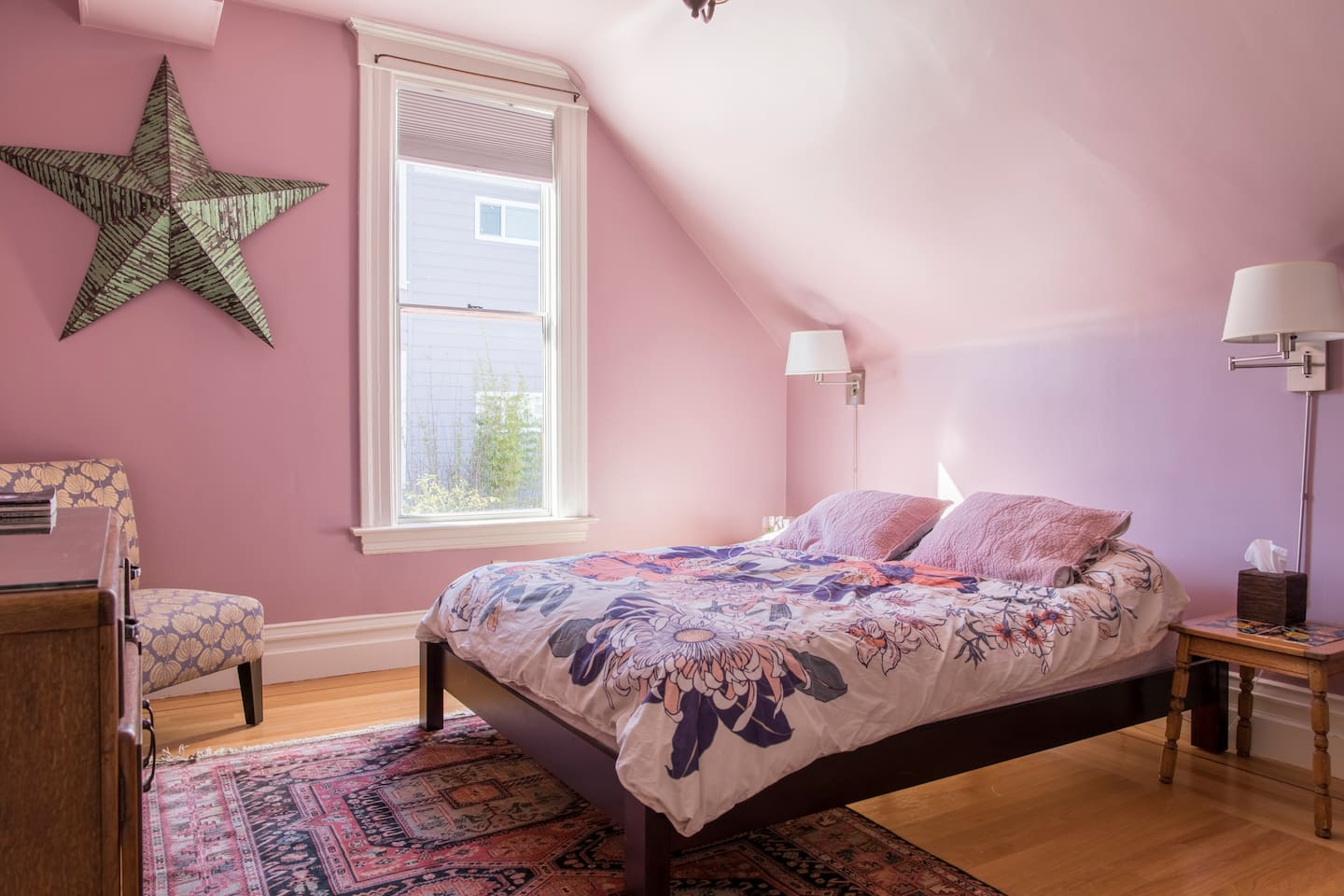 Private Bedroom has Queen-sized bed