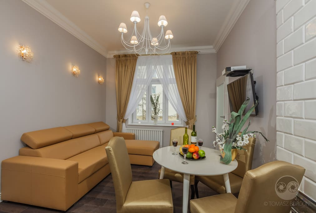 Apartament Carski - salon