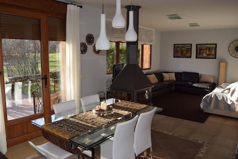 Casa con jardín en Rascafría