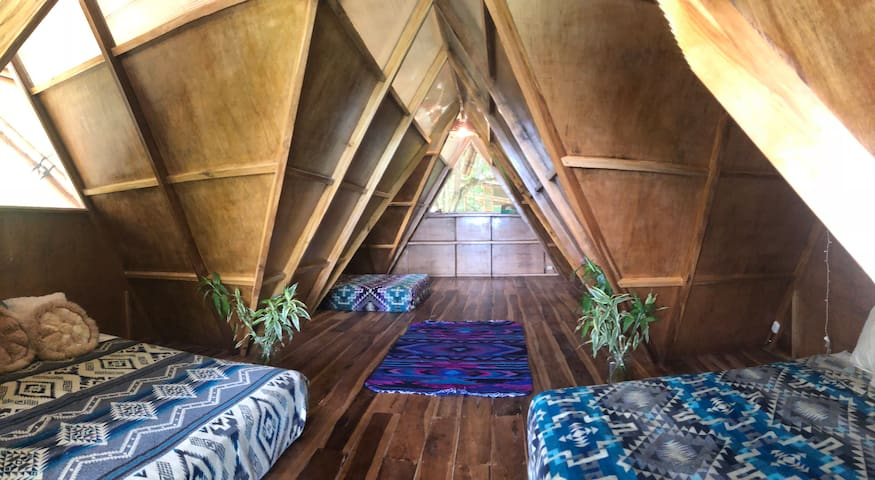 Bamboo Suite with 3 Double Beds