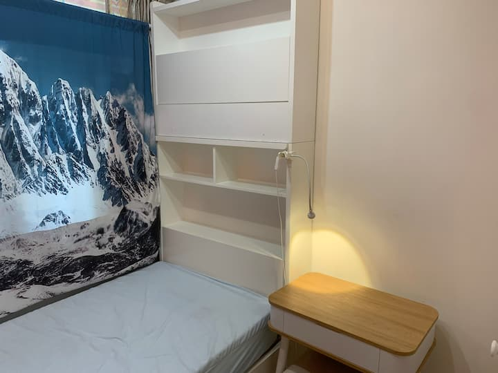 2mins Tai Wai Station•PrivateRoom for 1 Girl