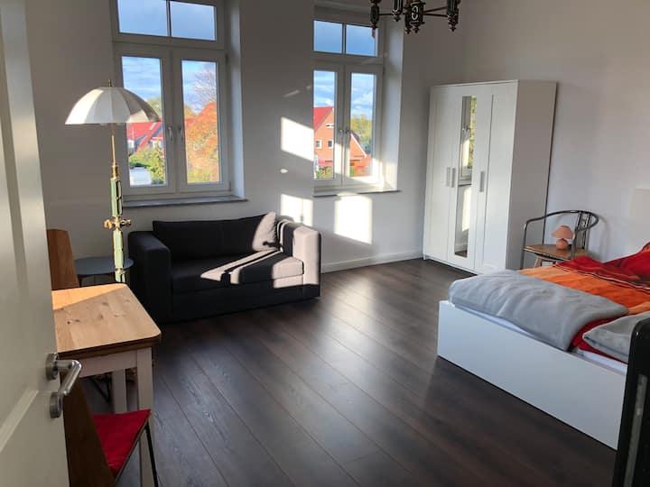 Schöne komfortable Wohnung in historischem Haus