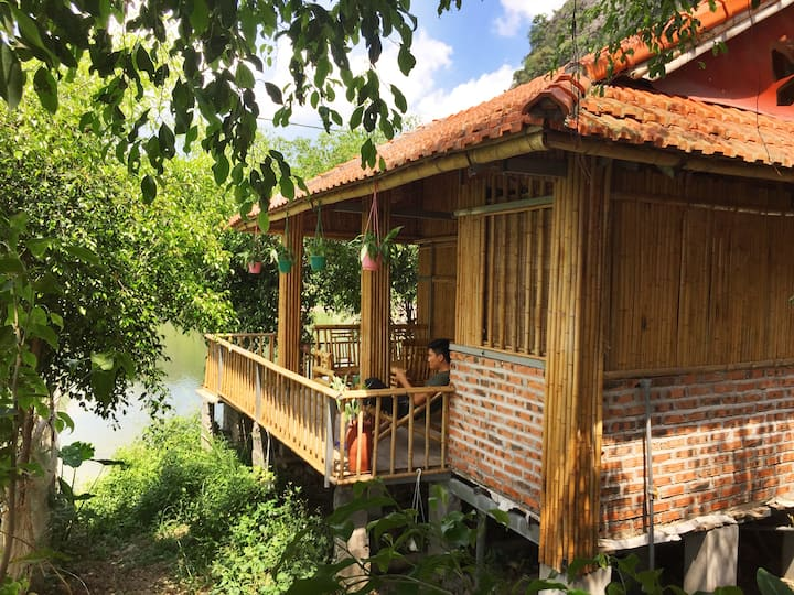 ham rong homestay - bungalow water front
