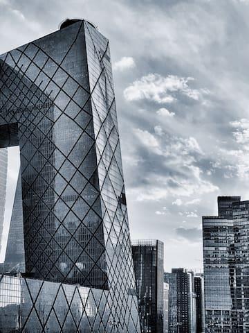 Une chambre chaude plus proche de CCTV,GUOMAO,CBD - Beijing - Apartamento