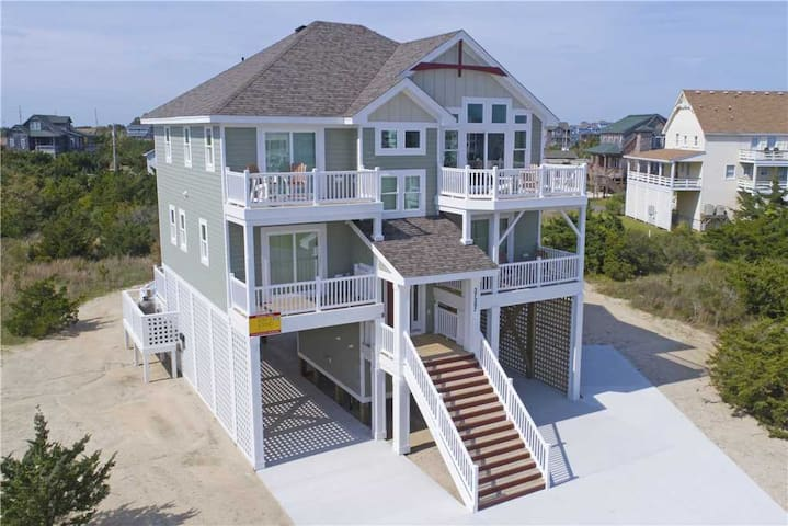 New in 2019! Oceanview, Pool w/ Media Rm, Short Walk to Beach - 878
