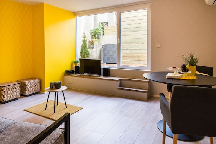 Cozy apartment in  nature 15min from Liège