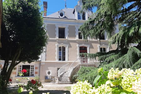Old Mansion House with Pool-Loire Valley***