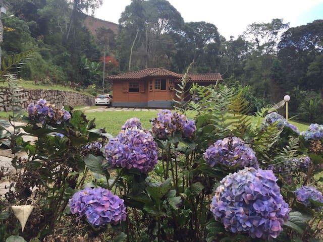 Casa na serra de Friburgo - Recanto do Sossego - Nova Friburgo - Dom