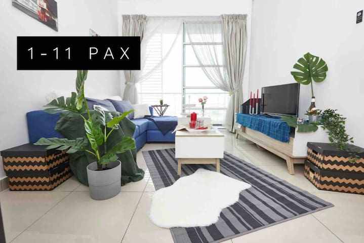Horizon Residence Bukit Indah/Legoland/1-11 Pax
