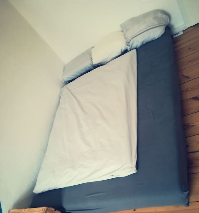 The bed. It's not just a mattress! I promise you will sleep comfortable.