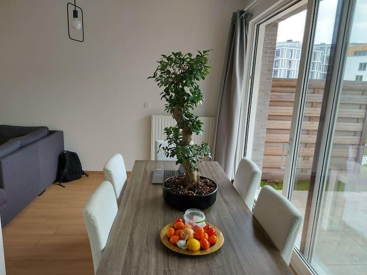 Ultra cosy BRUSSELSCenter-GardenNetflix
