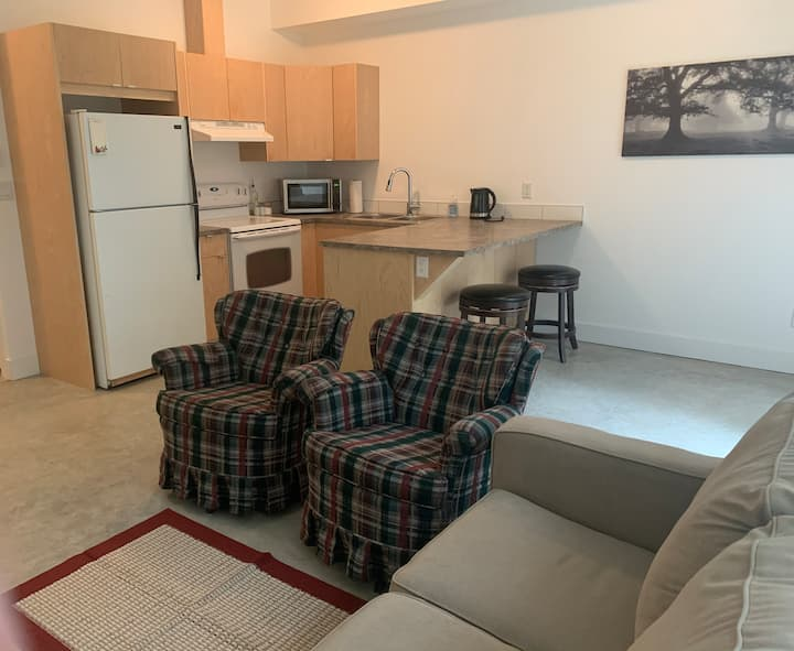 Spacious, cozy and quiet suite in the Shuswap