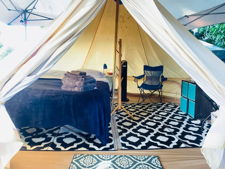 Surf Camp Wave Yurt! High Vibe & Chill! 30 day min