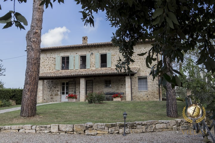 Villa Tre Pini, surrounded by pure nature