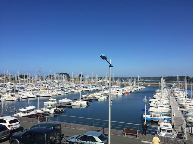 appartement sur le port