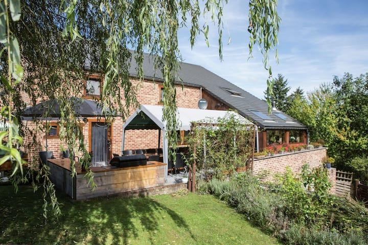 Sfeervolle vakantiewoning in Barvaux-sur-Ourthe met sauna