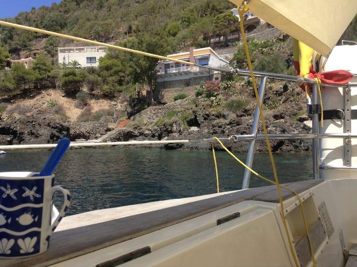 Croisière côtière en voilier à Ibiza