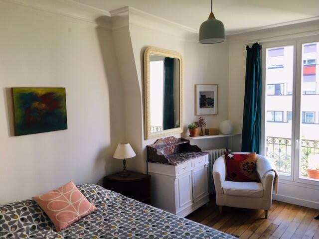 Paris : Belle chambre d'hôte (Père Lachaise)