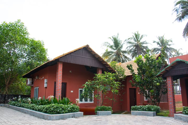 Side view of the home stay