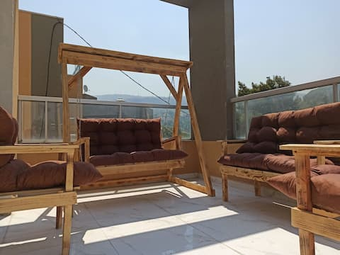⭐ Must see! Cosy Duplex with terrace In kfarchima