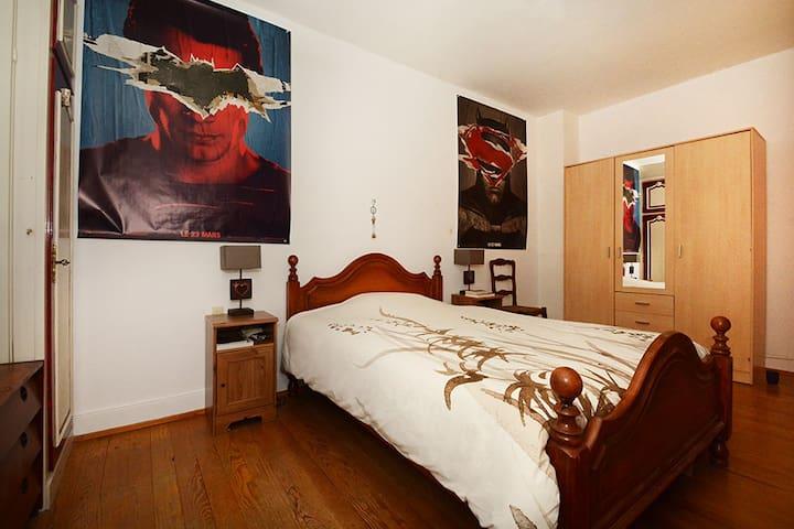 Chambre spacieuse à 10min de Strasbourg