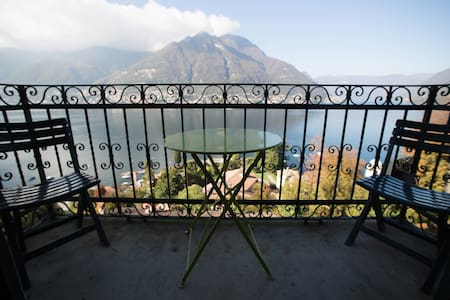 Balcony to the lake with aircon - Faggeto Lario - Apartmen