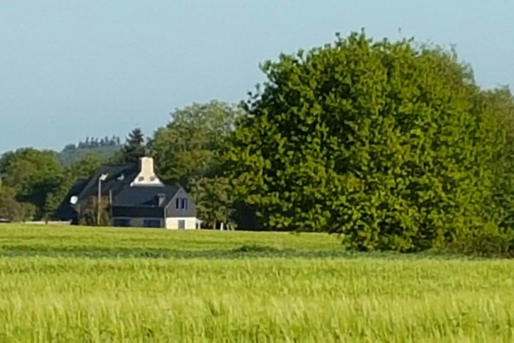Idyllic La Combe in Spring Time
