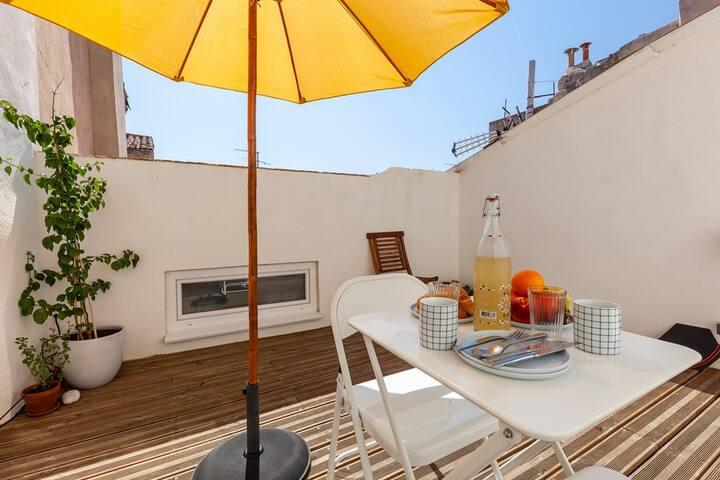 Loft Prestige Panier Toit terrasse