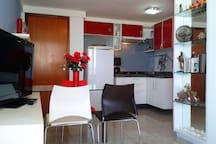 entrada cocina-sala