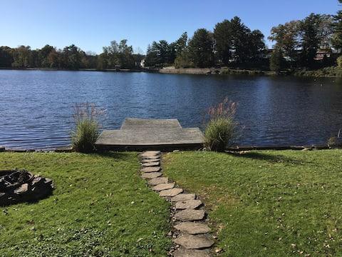 Maison du lac (The Lake House!)