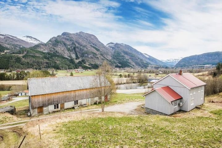 Renovated farm in the middle of Trollheimen