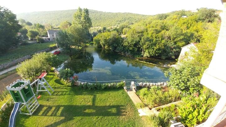 Waterfall house near Split 4*