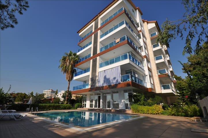 NL, 1 B/R Seaview apartment Avsallar Pine Park - Alanya - Apartment