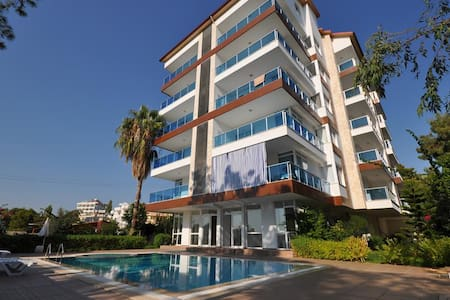 NL, 1 B/R Seaview apartment Avsallar Pine Park - Alanya