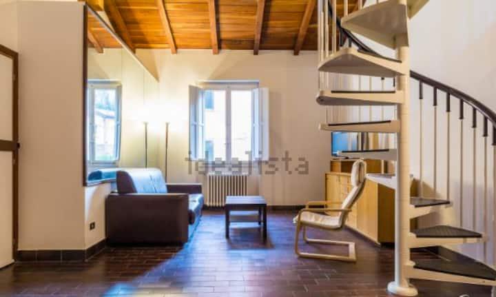 Old charme modern loft in Bologna