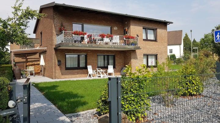 Möhnesee Ferienwohnung mit Terrasse