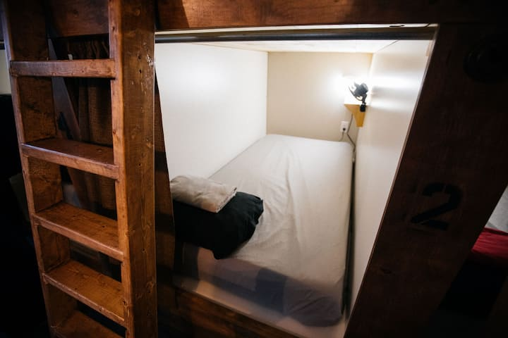 Bed in Female POD Dormitory
