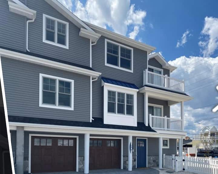 Stunning NEW home steps away from the Jersey Shore