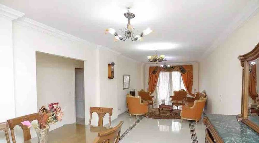 Luxury apartment in Compound, Montaza Alexandria