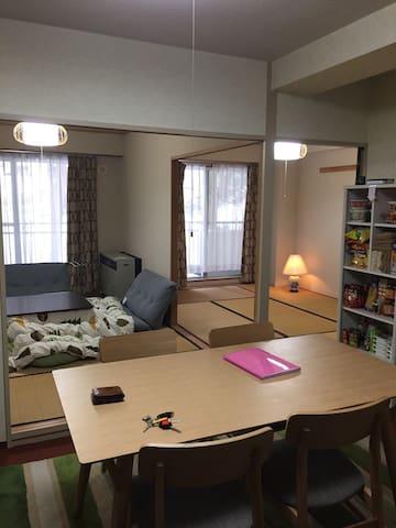 NAEBA Check out 14:00 Stay Long ! +WiFI YU's APT - Yuzawa-machi - Condominium