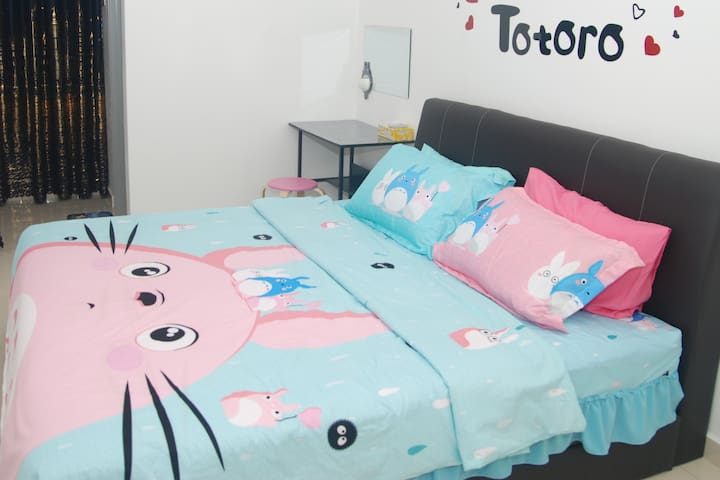 Qstay Sitiawan Townhouse (Totoro Dreams)  - 梦见龙猫