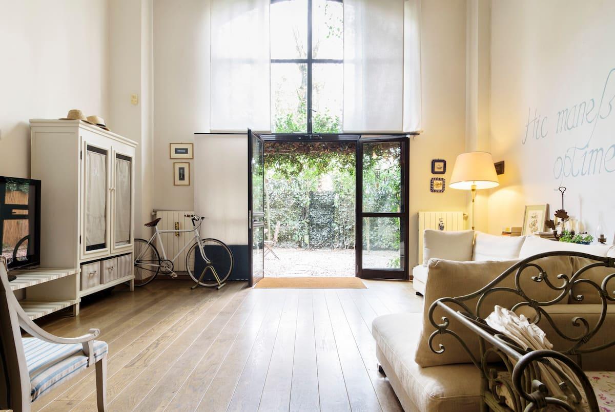 Elegant Loft Conversion Ex Marble Workshop