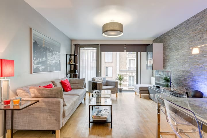 New apartment close to metro Porte de Clichy,Paris